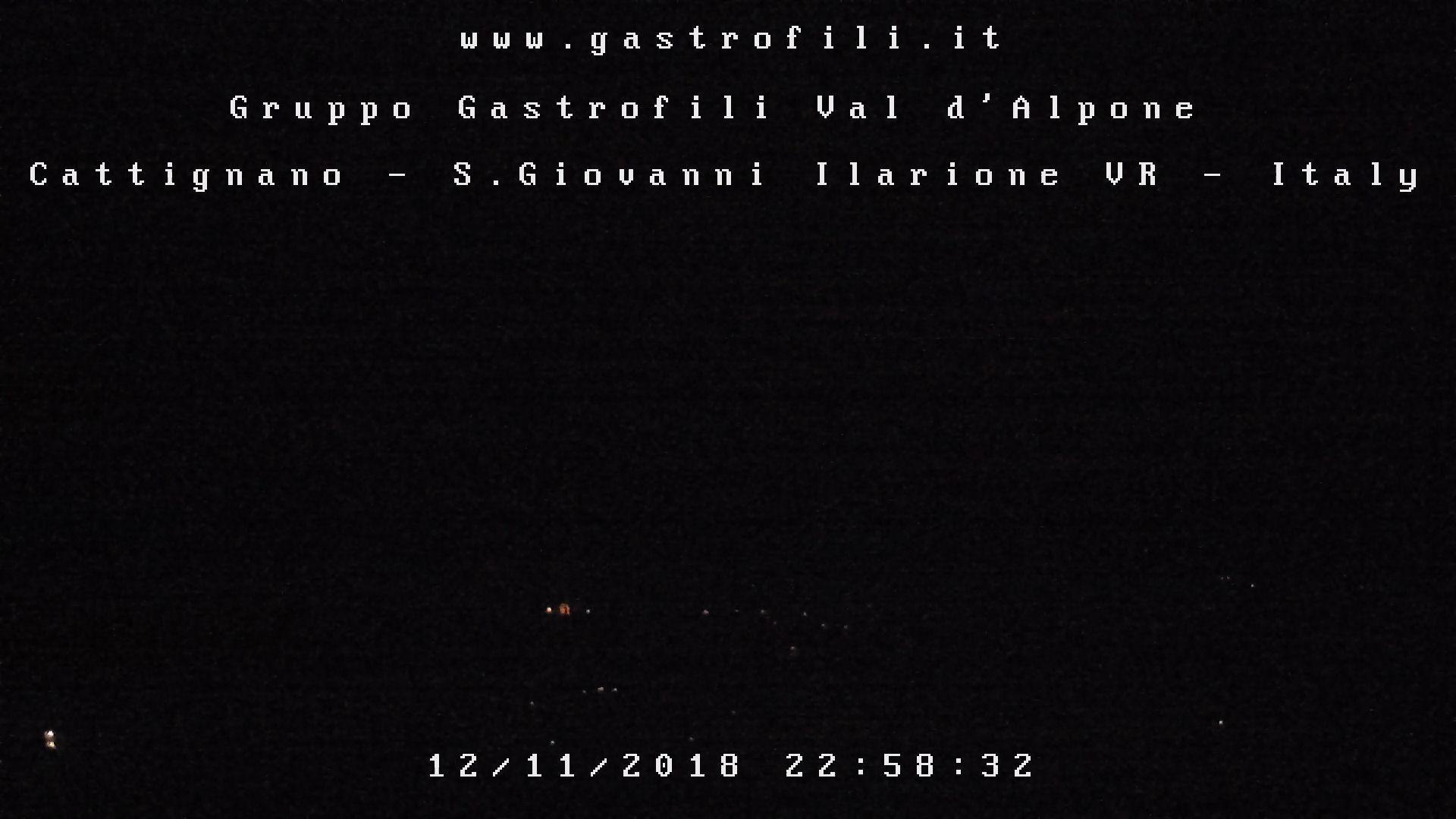 Immagine WEBCAM in diretta dalla sede di Cattignano del Gruppo Gastrofili Val d'Alpone a S.Giovanni Ilarione - Verona - Italy