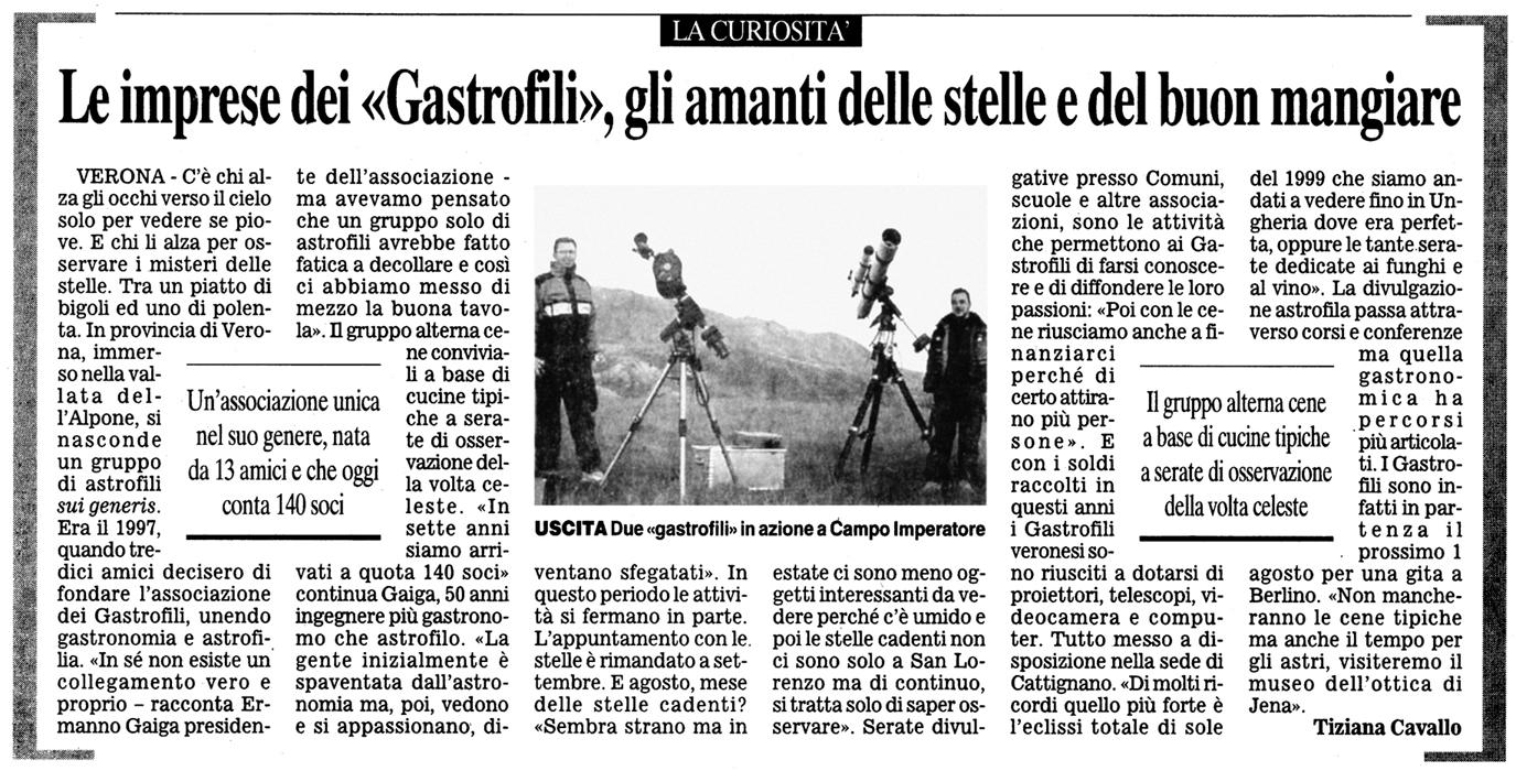 """da: """"il corriere del veneto"""" del 24 luglio 2004"""